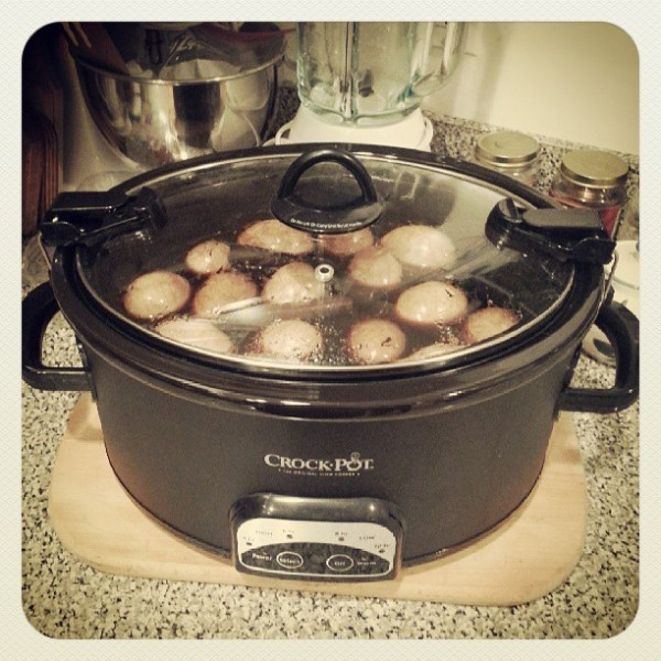 Tea eggs tomorrow for the BBQ