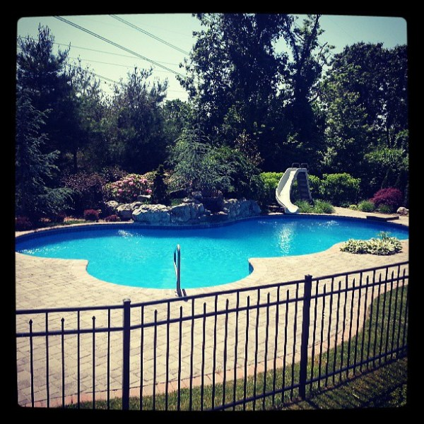 Awesome pool is awesome and soon to be opened ;)