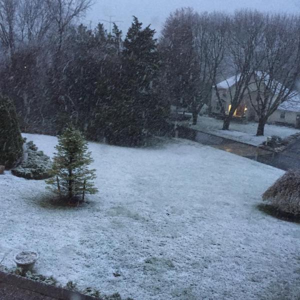 Snow? NOOOOO!
