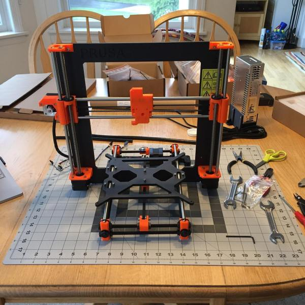 Beginning to look like a3D printer