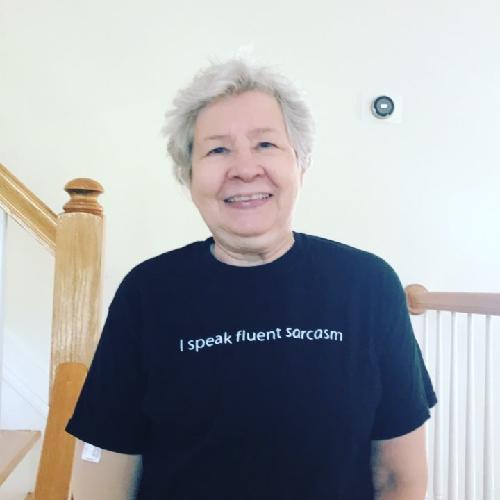 Mom's T-shirt today. ?