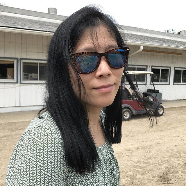 Hot day at Thomas School of Horsemanship
