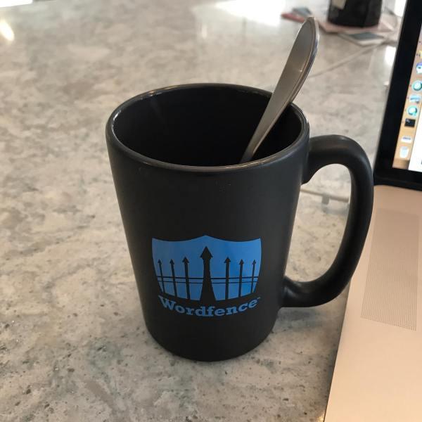New Wordfence mug ☕️