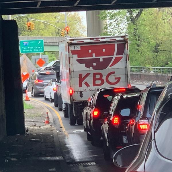 """KBG Logistics. I was sure it said """"KGB"""". 😎"""