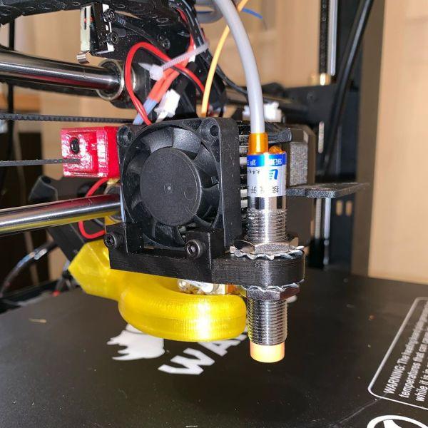 Progress on installing the auto leveling sensor on my old 3D printer