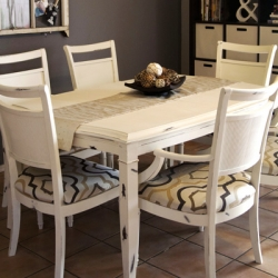 Chalk Paint Kitchen Table Redo Dwellinggawker