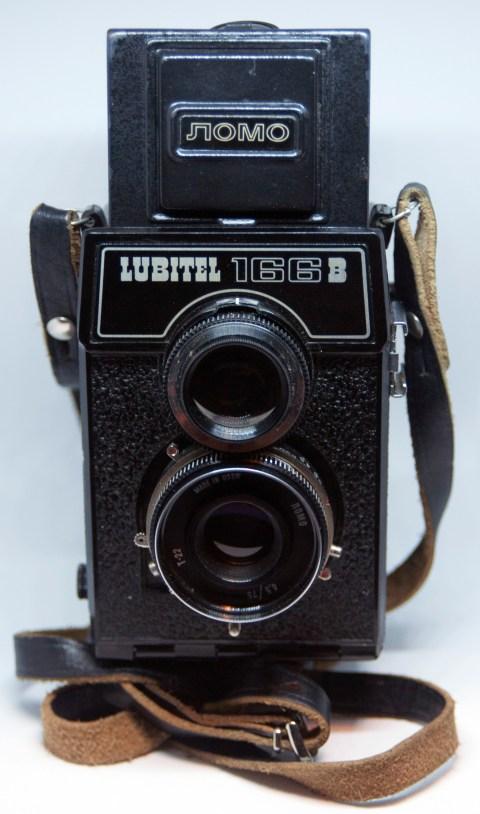 Lomo Lubitel 166B front view