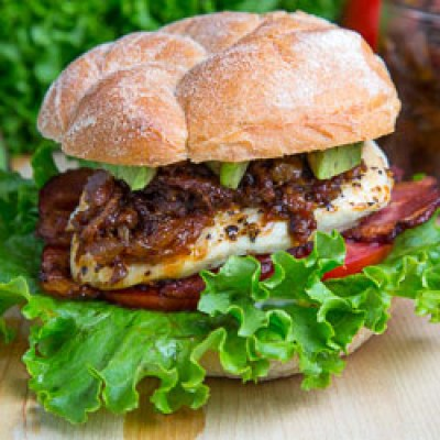 bacon jam chicken club sandwich click photo for more information pin it