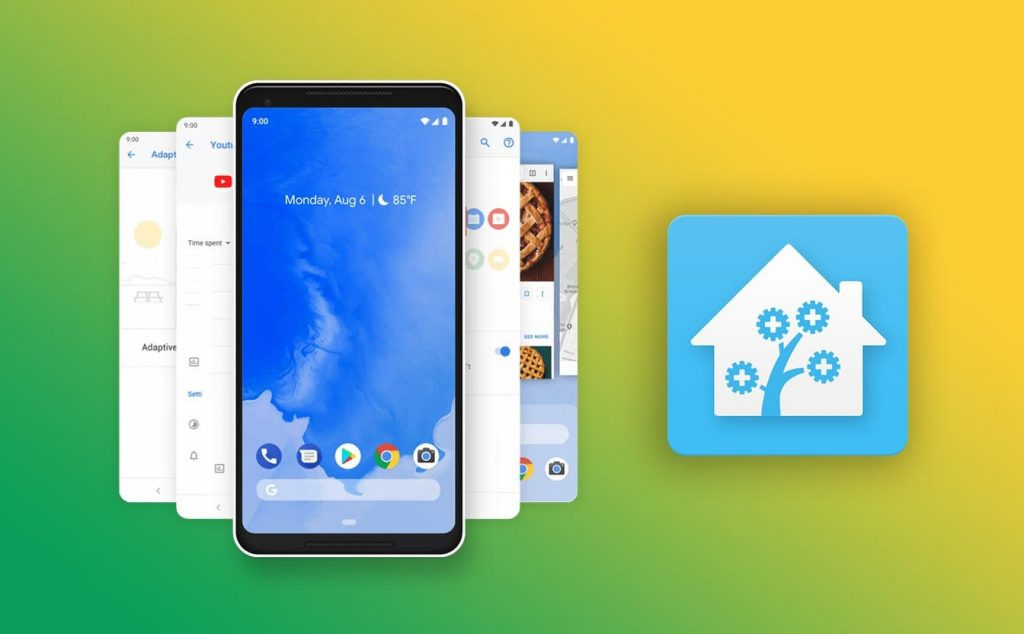 Set the smart home control center HASS Server on the old Android device