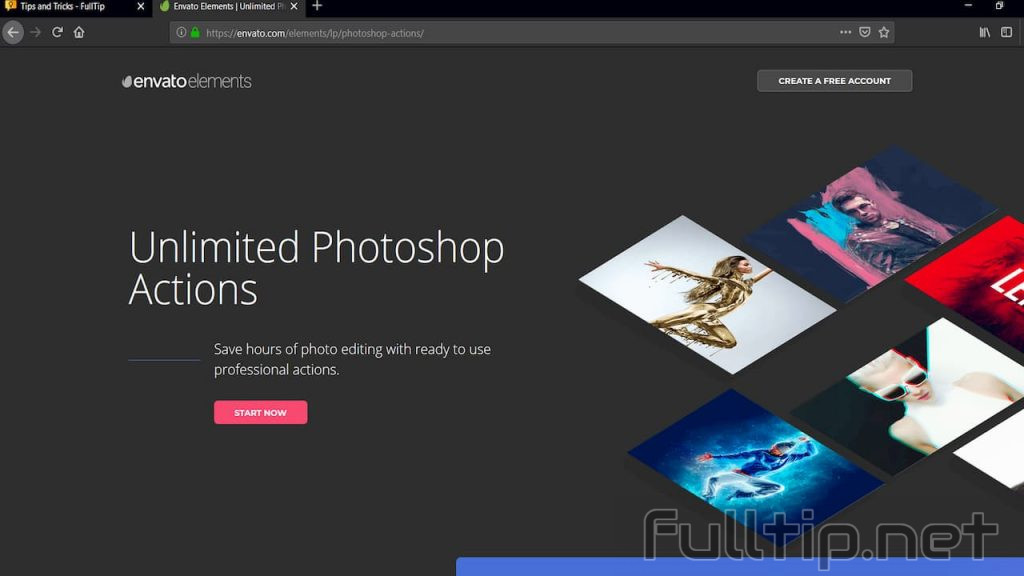 19 free Photoshop Action download sites