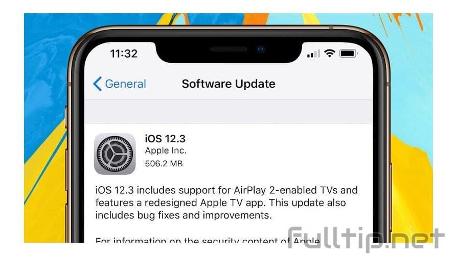 iOS 12.3 officially