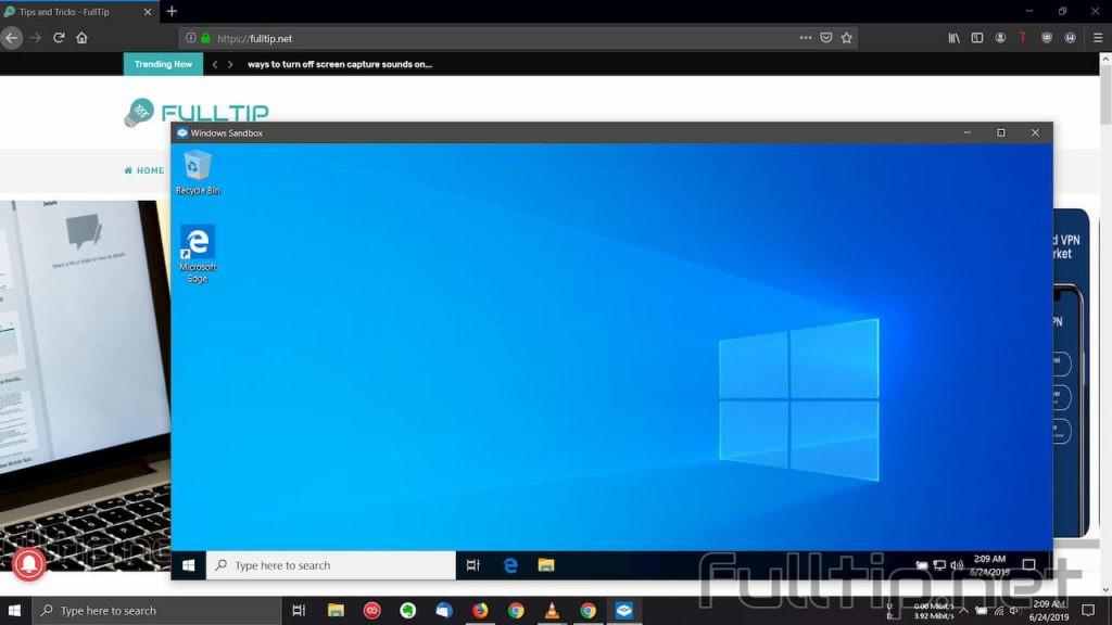 Test virus file right on Windows 10