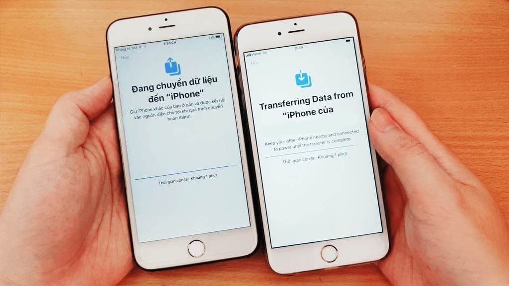 TRANSFER DATA FROM OLD IPHONE IPHONE NEW