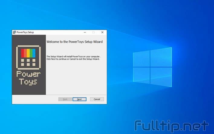 PowerToys on Windows 10