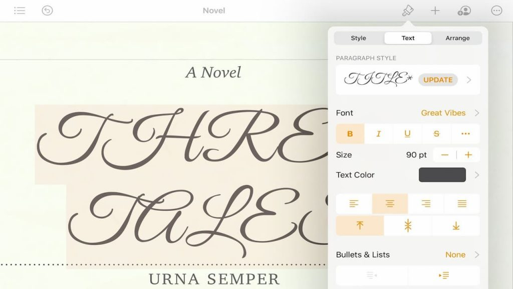 Download new fonts on iOS and iPadOS