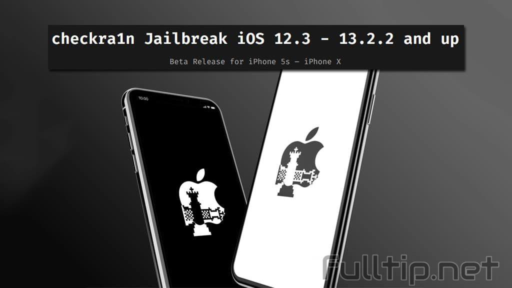 jailbreak iOS 12.3 13.2.2