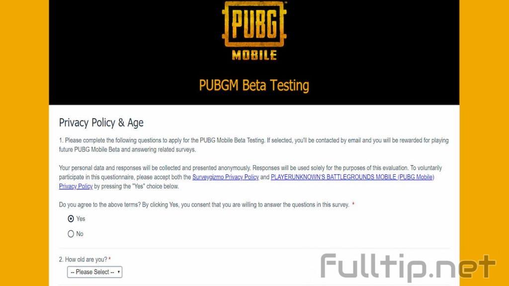 PUBGM Beta Testing