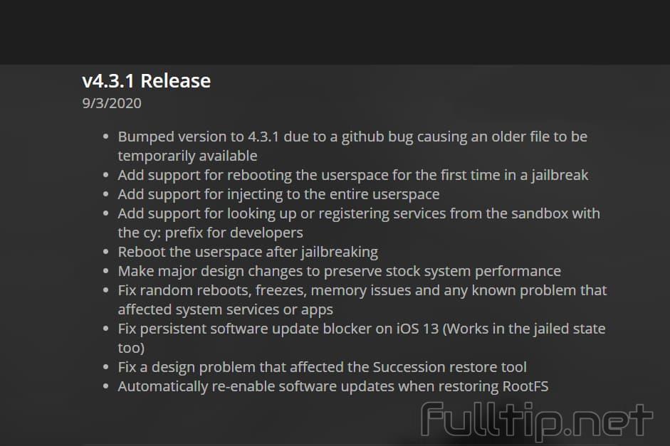 v4.3.1 Release