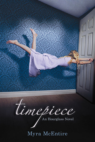 Book cover for Timepiece by Myra McEntire