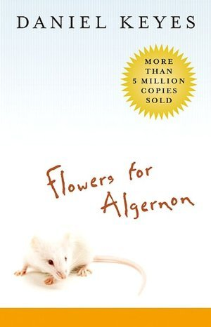 book cover image for flowers for algernon by daniel keyes