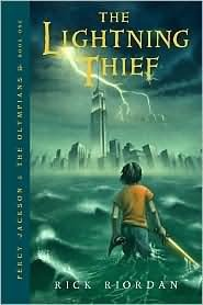 The Lightning Thief (Percy Jackson and the Olympians #1) by Rick Riordan.