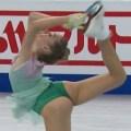 【世界フィギュアをエロ目線】エレーナ・ラジオノワ(ロシア)は常に尻クイコミな体質なのかい?