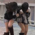 【台風注意】中継カメラマンは濡れた女子たちのエロハプニングを狙ってる説