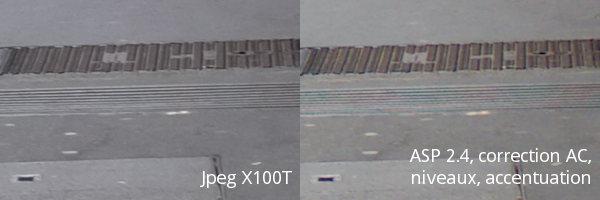 AfterShot Pro 2.4 n'a toujours pas résolu son problème de moiré sur le dématriçage des capteurs X-trans.