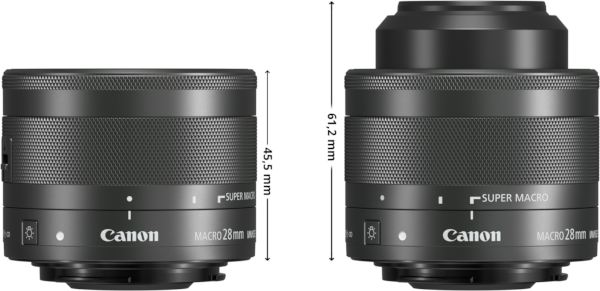 Position transport et position macro. - documents Canon