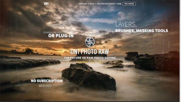 capture d'écran du site de ON1