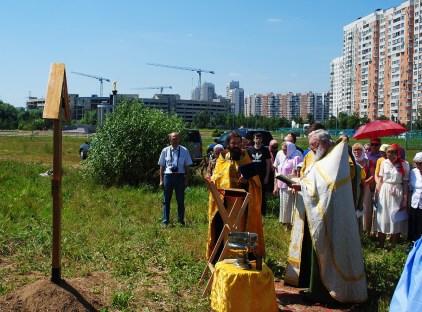 06 - Освящение закладного креста