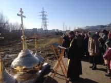 2 - Освящение куполов храма