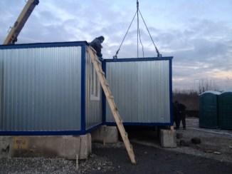 10 - монтаж корпуса временного храма