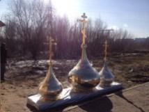 14 - Освящение куполов храма