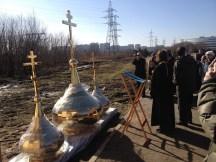 16 - Освящение куполов храма