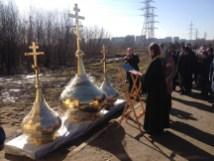 19 - Освящение куполов храма