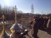 27 - Освящение куполов храма
