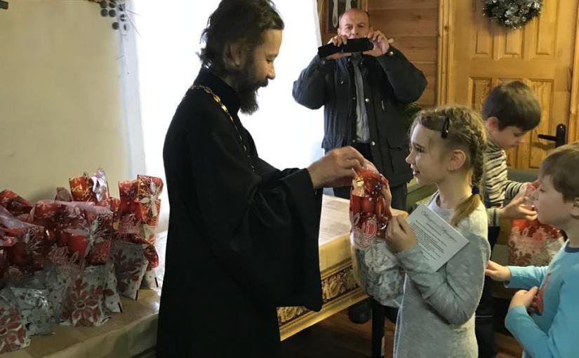 Рождественский праздник в нашей Воскресной школе