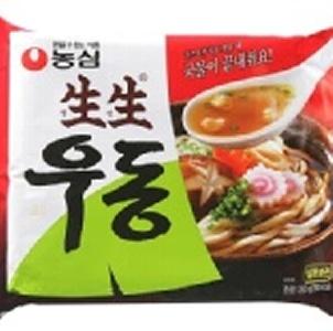 韓國農心生生烏龍麵 3入