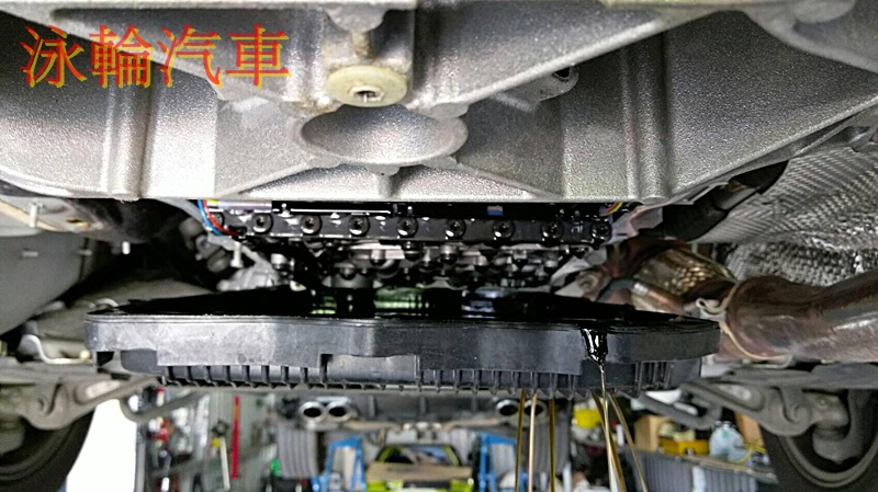 BMW 520D F10 ZF 更換ZF 8速變速箱油,油底殼(含濾網)及差速器油