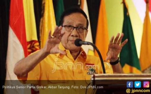 Pesan dan Harapan Bang Akbar Tanjung Sebelum Pencoblosan Pemilu 2019 - JPNN.COM