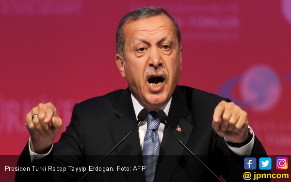 Rakyat Palestina Kembali Dizalimi, Erdogan Langsung Telepon Presiden Negara Ini - JPNN.com