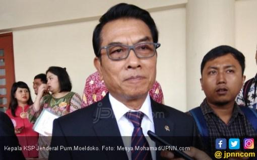 Moeldoko Ingatkan Arief Poyuono: Anda Itu Enggak Benar - JPNN.COM