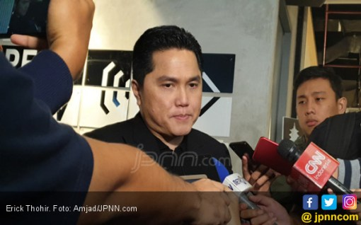 Erick Thohir Yakin Ma'ruf Amin-Sandiaga Bakal Bertemu Secara Natural - JPNN.COM