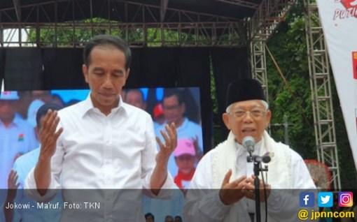 Jokowi - Amin Unggul Versi Hitung Cepat Lembaga Survei - JPNN.COM