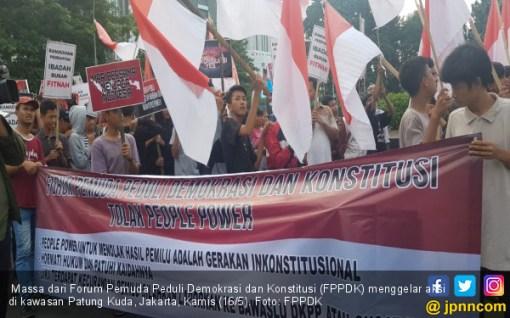Soal People Power Tolak Hasil Pemilu, FPPDK: Inkonstitusional - JPNN.COM