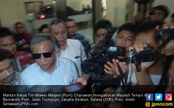 Ternyata Mantan Pimpinan Tim Mawar Sudah Dihubungi Majalah Tempo - JPNN.COM
