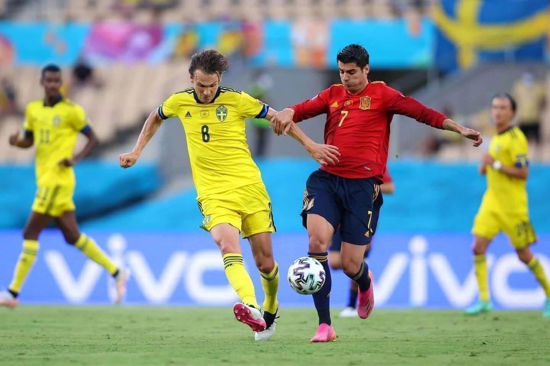 Tampil Kurang Gereget di EURO 2020, Alvaro Morata Dapat Ancaman dari Fan