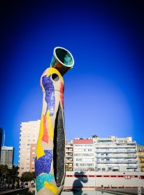 Dona i Ocell (Miró)