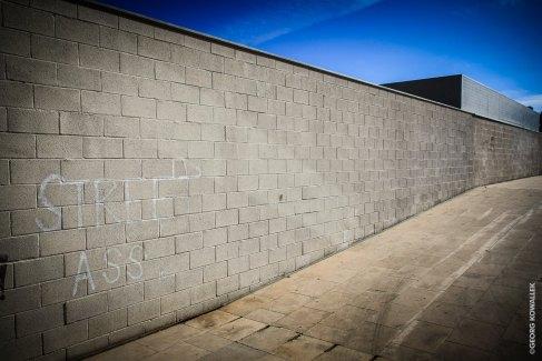 Eine Wand